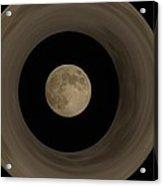 The Moon Within The Moon Acrylic Print