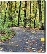 The Mount Vernon Trail. Acrylic Print