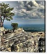 The Mountain Lookout Acrylic Print