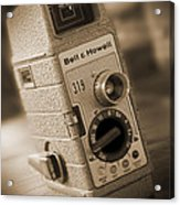 The Movie Camera Acrylic Print by Mike McGlothlen