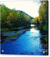 The Moyie River Near Yak B C Acrylic Print