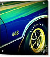 The Muscle Car Oldsmobile 442 Acrylic Print