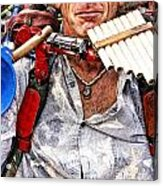 The Music Man Acrylic Print