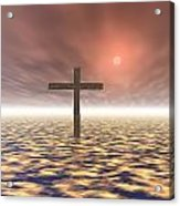 The Mystery Of The Cross Acrylic Print