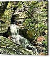 The Mystery Waterfall Acrylic Print