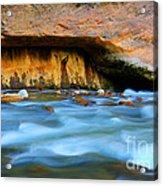 The Narrows Virgin River Zion 4 Acrylic Print