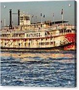 The Natchez Riverboat Acrylic Print
