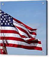 The National Colors And Official Colors Acrylic Print
