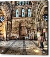 The Nave At St Davids Cathedral 5 Acrylic Print