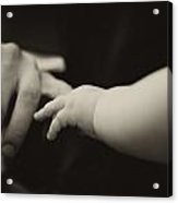 The Need Of Touch Acrylic Print