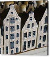 The Netherlands, Amsterdam, Model Houses Acrylic Print