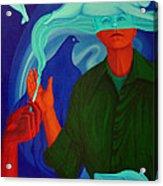 The Nicotine. Acrylic Print