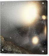 The Night Sky As Seen Acrylic Print