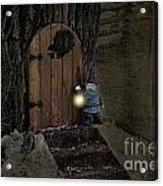 The Nightstalking Elf Acrylic Print