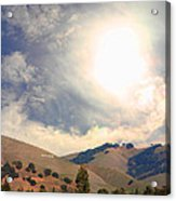 The Niles Sign In The Hills Of Niles California . 7d12707 Acrylic Print