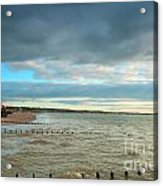 The North Bay Bridlington From The North Pier Acrylic Print