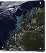 The Norwegian Sea Acrylic Print by Stocktrek Images