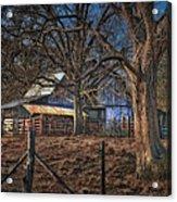 The Old Barn Acrylic Print by Brenda Bryant