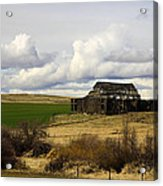 The Old Barn In The Meadow Acrylic Print