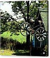 The Old Bike Shoppe Acrylic Print