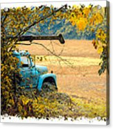 The Old Boom Truck Acrylic Print