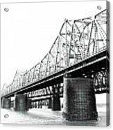 The Old Bridges At Memphis Acrylic Print
