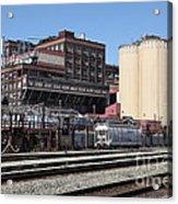 The Old California And Hawaii Sugar Company In Crockett California . C And H . 5d16770 Acrylic Print