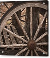 The Old Cart Acrylic Print