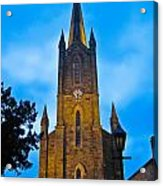 The Old Church At Donegal Town Acrylic Print