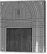 The Old Church Doors Acrylic Print