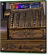 The Old Copper Cash Machine Acrylic Print