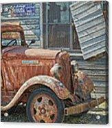 The Old Dodge Acrylic Print