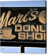 The Old Donut Shop Acrylic Print