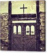 The Old Galisteo Cemetery Acrylic Print