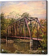 The Old Iron Bridge Acrylic Print