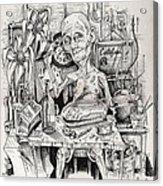 The Old Man Acrylic Print