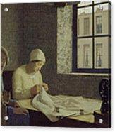 The Old Nurse Acrylic Print