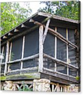 The Old Part Of The Cabin Acrylic Print