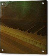 The Old Piano Acrylic Print