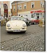 The Old Porshe Acrylic Print by Odon Czintos