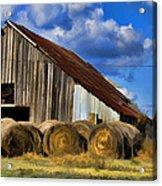 The Old Roadside Barn Acrylic Print
