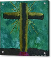 The Old Rugged Cross Acrylic Print