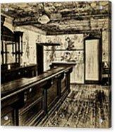 The Old Saloon Acrylic Print