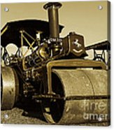 The Old Steam Roller Acrylic Print
