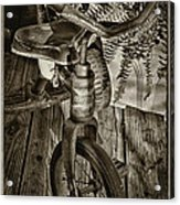 The Old Tricycle Acrylic Print