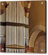 the Organ Augusta Victoria Jerusalem Acrylic Print
