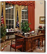 The Oval Office Acrylic Print