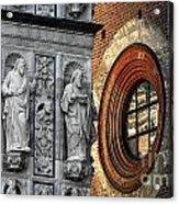 The Oval Window Acrylic Print