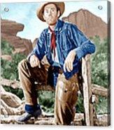 The Ox-bow Incident, Henry Fonda, 1943 Acrylic Print by Everett