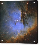 The Pacman Nebula Acrylic Print by Ken Crawford